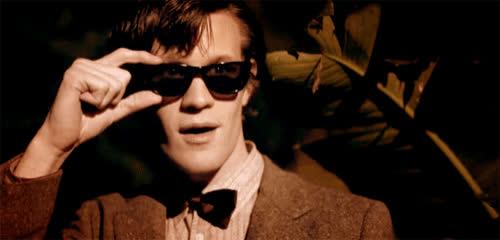 doctorwho, Eleven Sunglasses GIFs