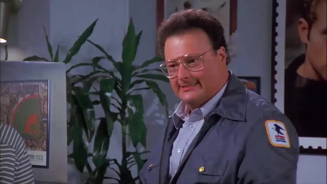 jason alexander, jerry seinfeld, newman, seinfeld, wayne knight, Another day, and another Newman rant. GIFs
