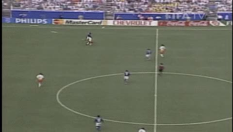 Watch and share Bebeto. Netherlands - Brazil. 1994 GIFs by fatalali on Gfycat