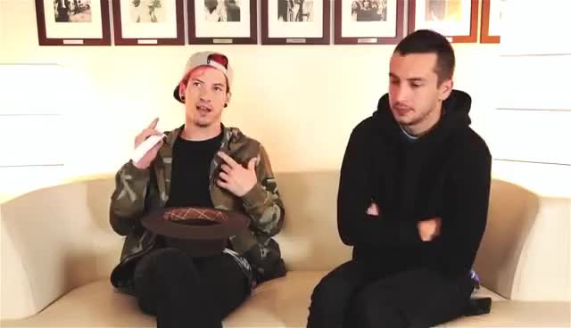 Watch this trending GIF on Gfycat. Discover more music, twenty one pilots GIFs on Gfycat