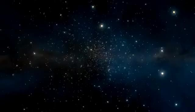 Watch and share DreamScene - Flying Through Stars GIFs on Gfycat