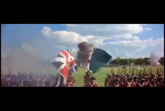 Watch and share The Patriot: The British Redcoats Vs Rebellious Peasants GIFs on Gfycat