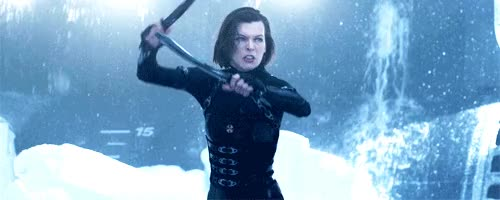 Watch and share Milla Jovovich GIFs on Gfycat