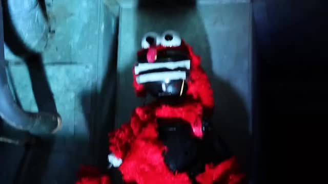 Watch Creepy Elmo GIF GIF on Gfycat. Discover more Horror, Offensive, Pokemon, Reaction, Scary, book, creepy, creepypasta, elmo, mario, news, nintendo, offended, parents, sonic, toy, unboxing, upset, weird, zelda GIFs on Gfycat