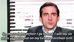 Watch and share George Forman Grill GIFs and Michael Scott Gif GIFs on Gfycat