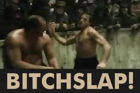 Watch EPIC Bitchslap GIF on Gfycat. Discover more Robert Downey Jr, Sherlock Holmes, bitchslap, epic, funny, gif, jude law, lol GIFs on Gfycat