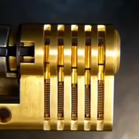 Watch and share How A Lock Works GIFs by PracticalProperty on Gfycat