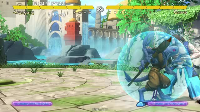 Watch Fantasy Strike 2018-06-27 23 29 15 GIF by mienaikage on Gfycat. Discover more Argagarg, Combo, Fantasy Strike GIFs on Gfycat
