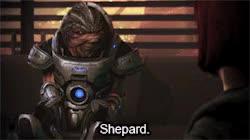 Watch and share My Gifs Spoilers Gif Set Mass Effect Grunt Shepard Wrex Citadel DLC GIFs on Gfycat