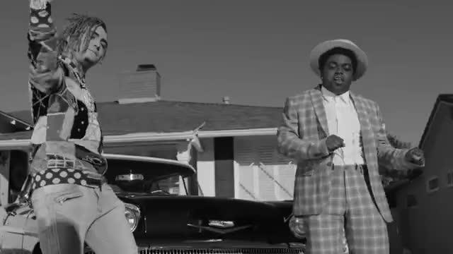 Black, atlantic, black, drowning, kodak, kodak black, music, transportin, Kodak Black - Gnarly (Feat. Lil Pump) [Official Video] GIFs