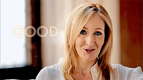 good luck, j. k. rowling, Good Luck J. K. Rowling GIFs