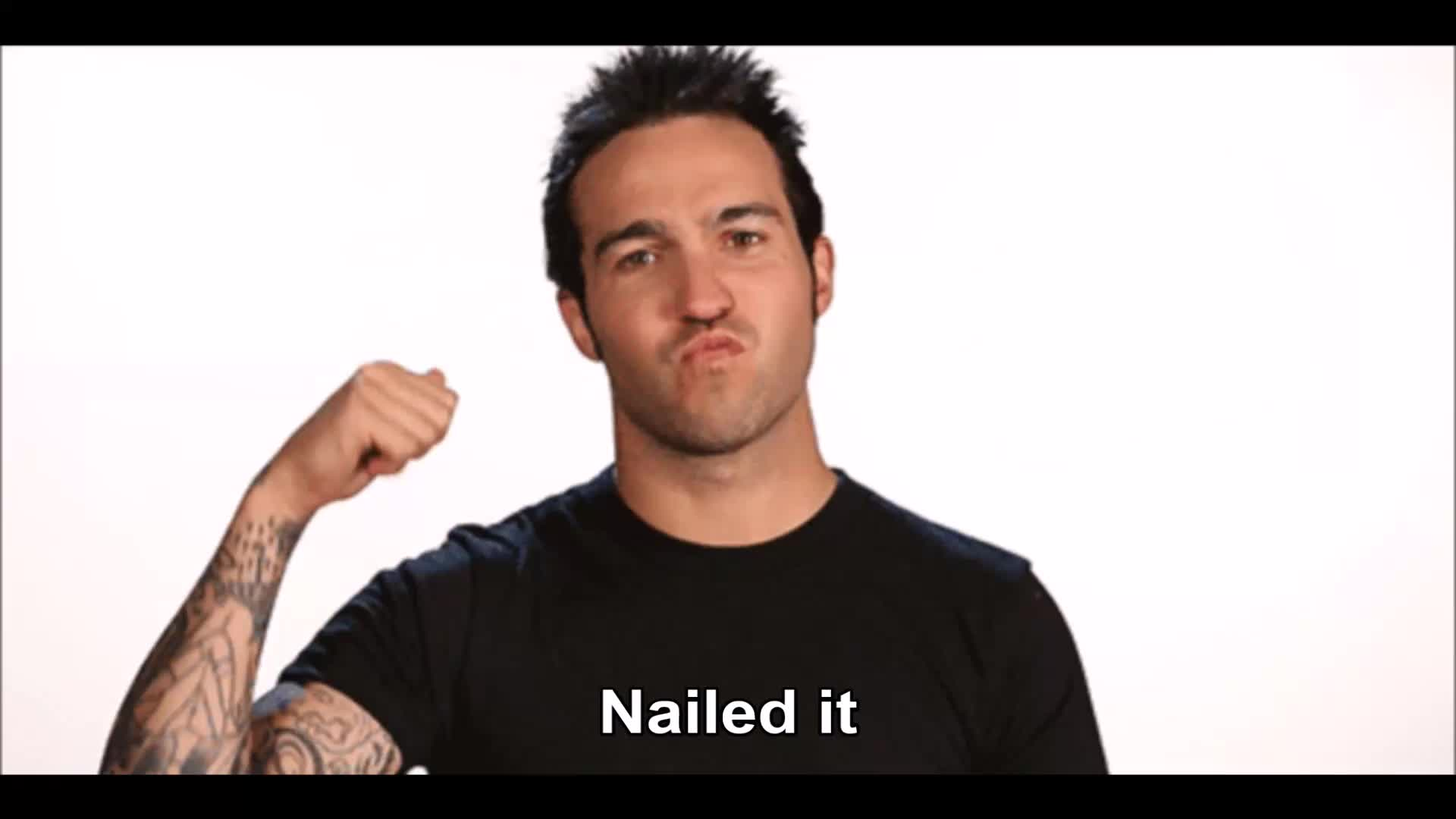 nailed it, pete wentz, Pete Wentz Nailed it GIFs