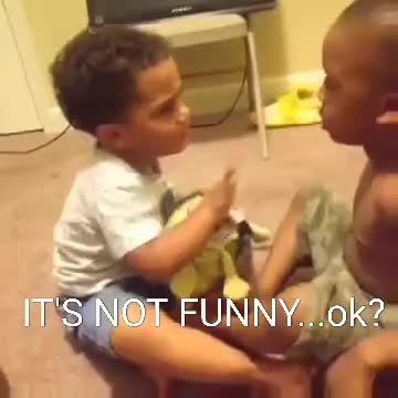 Watch Its Not Funny Ok Gif By Cindy046 Cindy046