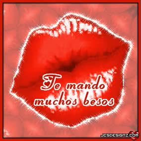Watch and share Imagenes De Te Mando Muchos Besos GIFs on Gfycat