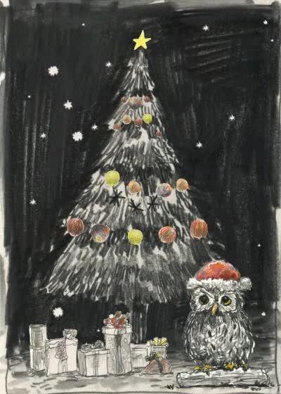 Watch and share Animated Christmas Tree Gif GIFs on Gfycat