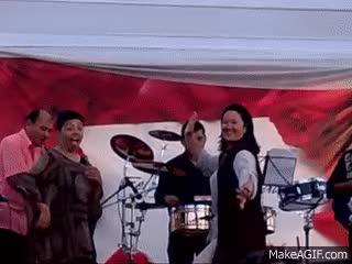 """Watch and share Keiko Fujimori Bailando """"festejo"""" En El Día De La Madre 2012 - Perú GIFs on Gfycat"""