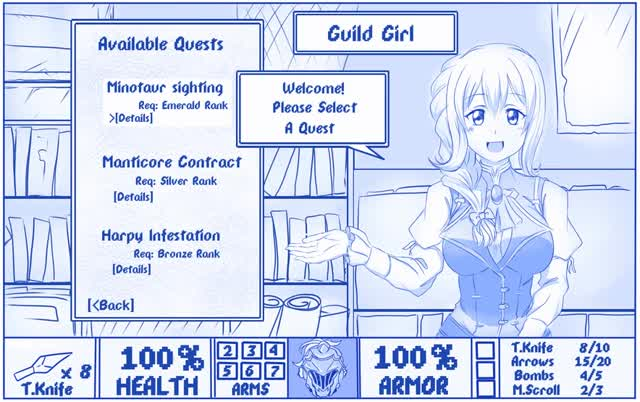 Watch and share Goblin Slayer And Guild Girl Doom Game And Goblin Slayer Drawn By Viperxtr Sample-e2fb78cbedb77c96c2e7c565aa42ccdb GIFs on Gfycat