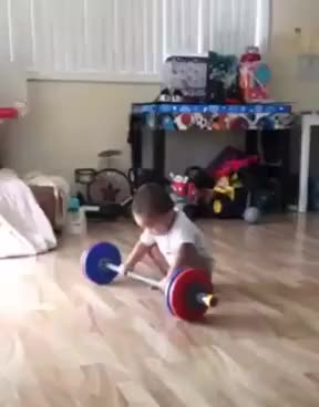 Watch this baby GIF on Gfycat. Discover more Hello, adele, adorable, baby, fights, funny, hello, work out, working out, workout GIFs on Gfycat