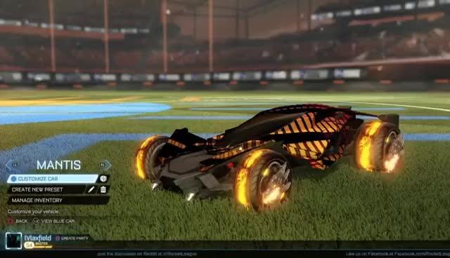 Best Looking Car In Rocket League 20xx Draco Mantis Gif Gfycat