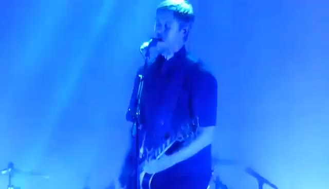 Watch and share Real Life - Interpol Live @ Albert Hall Manchester 03/09/17 GIFs on Gfycat