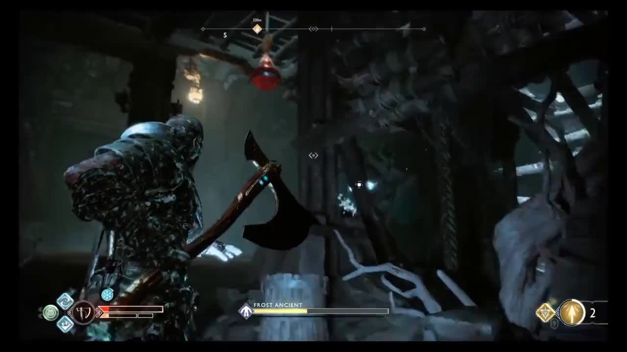GamePlay, GodofWar, Kratos, PS4Share, ninjadarkovia, Frost Ancient pots GIFs