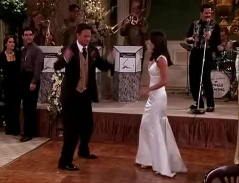 Watch and share Chandler GIFs and Dancing GIFs on Gfycat