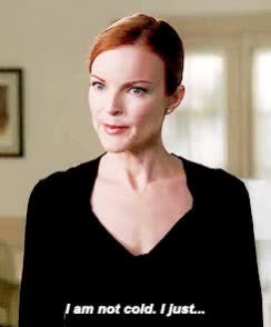Watch and share Marcia Cross GIFs and Cold GIFs on Gfycat