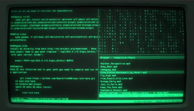 Watch and share Cyberpunk Linux Terminal (cool-retro-term) GIFs on Gfycat