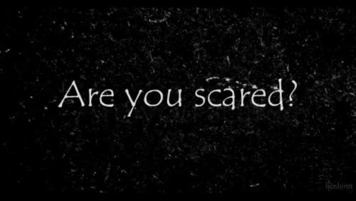 Watch and share Are You Afraid GIFs on Gfycat