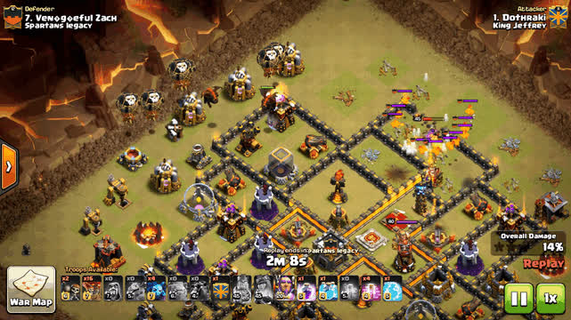 ClashOfClans, clashofclans, When the warden gets too excited. GIFs