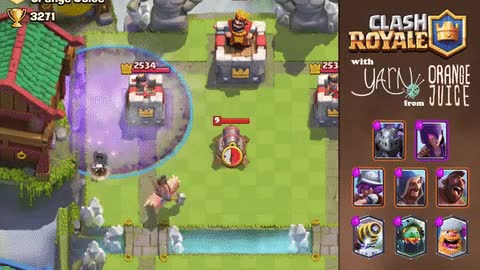 Watch and share Clash Royale Graveyard Guide GIFs on Gfycat