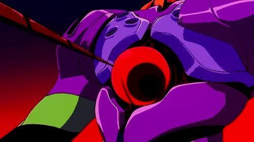 Watch and share End Of Evangelion GIFs and Unit 01 GIFs on Gfycat