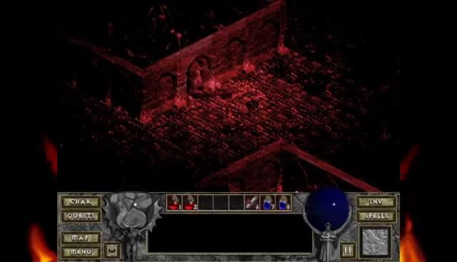 The Butcher Diablo 1 vs Diablo 3 GIFs