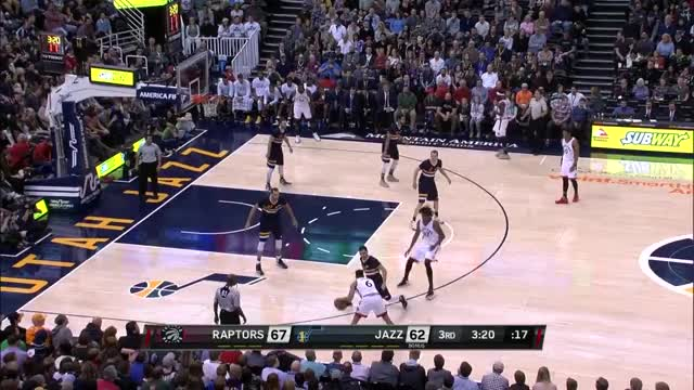 Watch and share Toronto Raptors  Utah Jazz (23.12.2016) GIFs on Gfycat