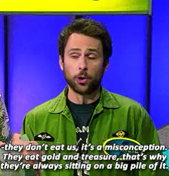 Watch and share Charlie Kelly GIFs and Always Sunny GIFs on Gfycat