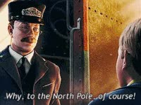 Watch and share Christmasmovies, Polarexpress, The Polar Express, Movie, Train GIFs on Gfycat