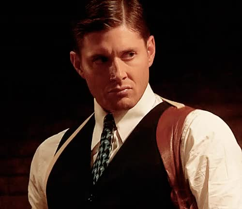 Watch and share Jensen Ackles In An Episode Of Supernatural Where He Gets Pulled Back To 1944 Always Reminds Me Of Brian. GIFs on Gfycat