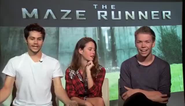 Watch dylan o'brien GIF on Gfycat. Discover more dylan o'brien, the maze runner GIFs on Gfycat
