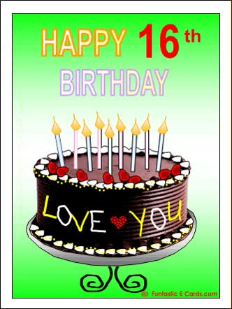 Watch and share Birthday Ecard Th Chocolate Cake GIFs on Gfycat