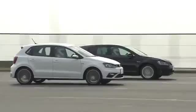 Watch 2015 POLO GTI  vs 2015 GOLF GTI GIF on Gfycat. Discover more related GIFs on Gfycat