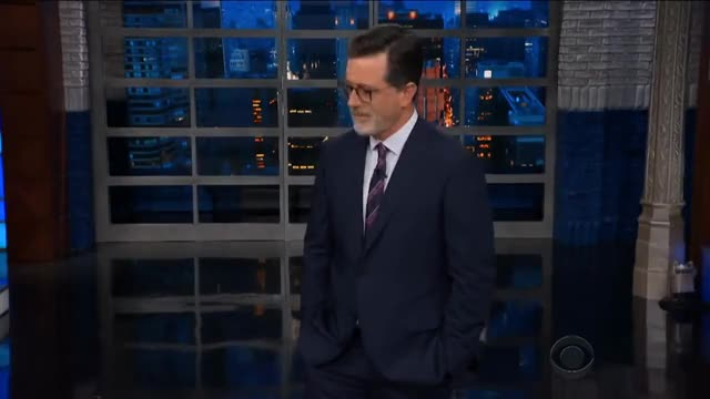 Watch Colbert nope GIF on Gfycat. Discover more Colbert, Hollywood, Humor, Topical, cbs, celeb, celebrities, celebrity, comedian, comedy, famous, funny, joke, jokes, nonrecurring, politics GIFs on Gfycat