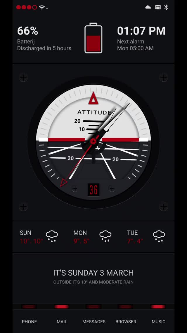 Watch ATTITUDE GIF by ThemeThief (@themethief) on Gfycat. Discover more android, attitude, klwp, meters, theme GIFs on Gfycat