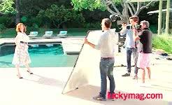 Watch HARRIS-OLSON GIF on Gfycat. Discover more christina hendricks, lucky magazine, photoshoot, stay gold GIFs on Gfycat