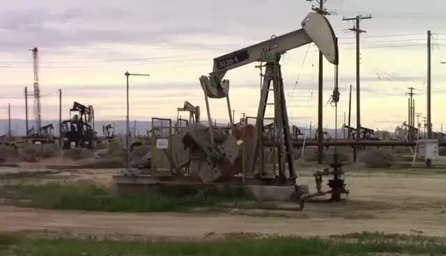 Watch and share Pumpjack In California #4 - HighWay 46 - Oil Pumps In California GIFs on Gfycat