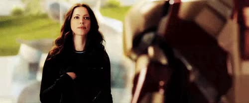 Watch and share Rebecca Hall GIFs and Iron Man 3 GIFs on Gfycat