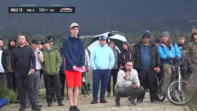 Watch 2019 Wintertime Open - Round 3 Adam Hammes hole 12 drive GIF by Benn Wineka UWDG (@bennwineka) on Gfycat. Discover more dgpt, dgwt, disc, disc golf, mcbeast, nate sexton, paul mcbeth, pdga, simon lizotte, tournament GIFs on Gfycat