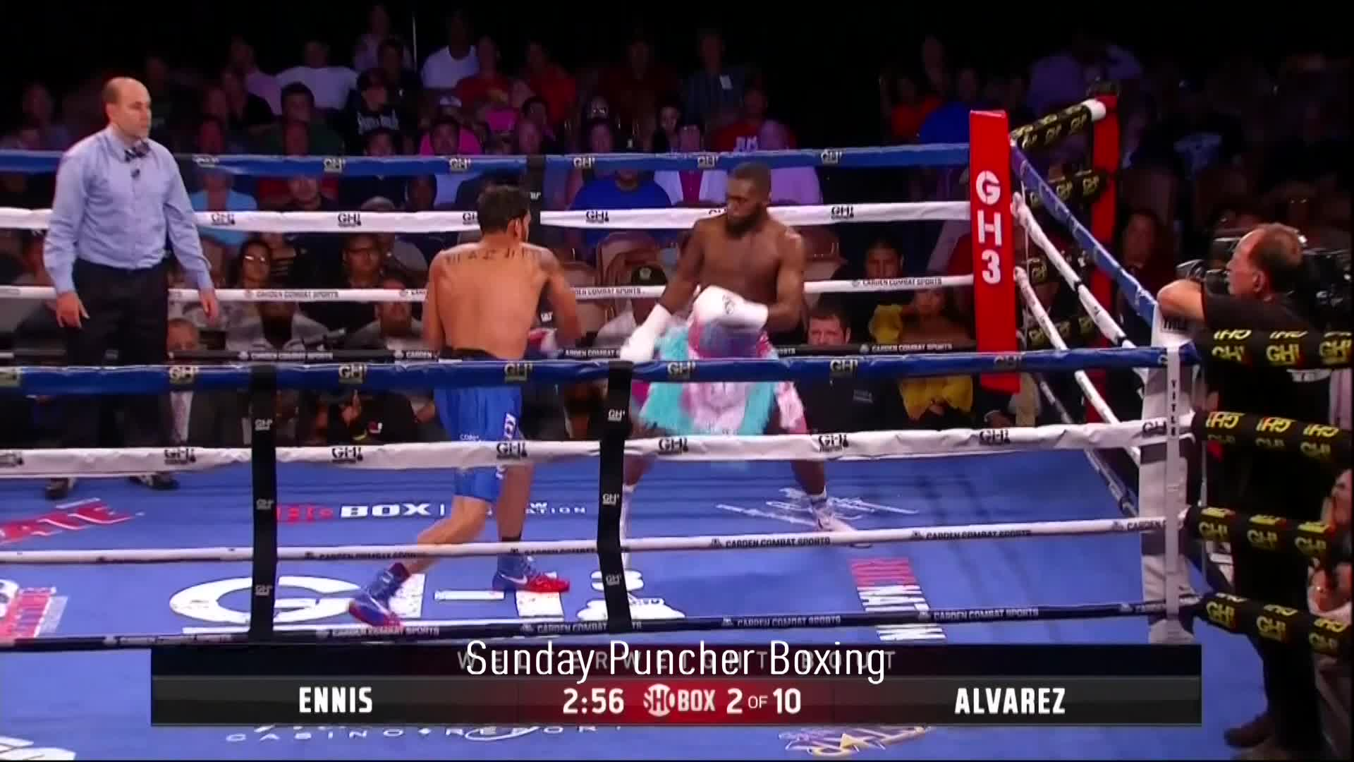 Armando Alvarez, Boxing, Jaron Ennis, Slick prospect Jaron Ennis shows off his moves GIFs