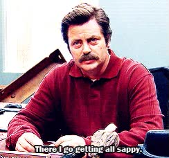 Watch and share Ron Swanson Love GIFs on Gfycat