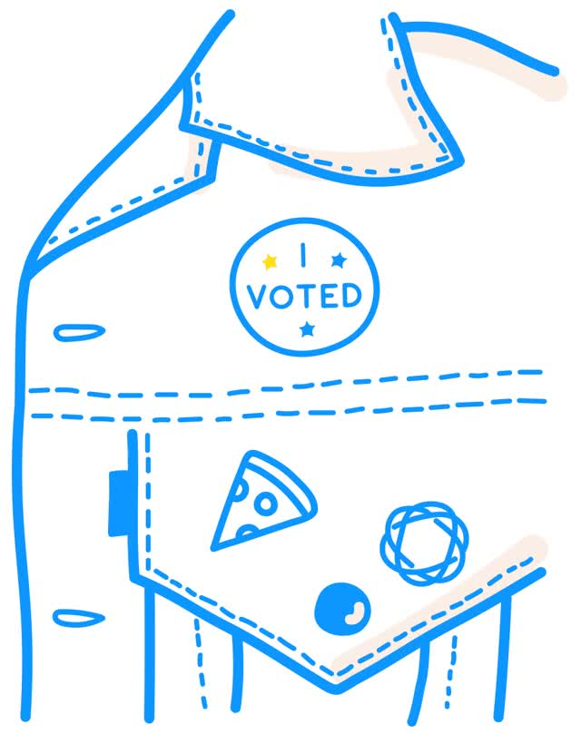 Watch this election day GIF by The GIF Smith (@sannahparker) on Gfycat. Discover more democracy, election, election day, i voted, simple, vote, voting GIFs on Gfycat