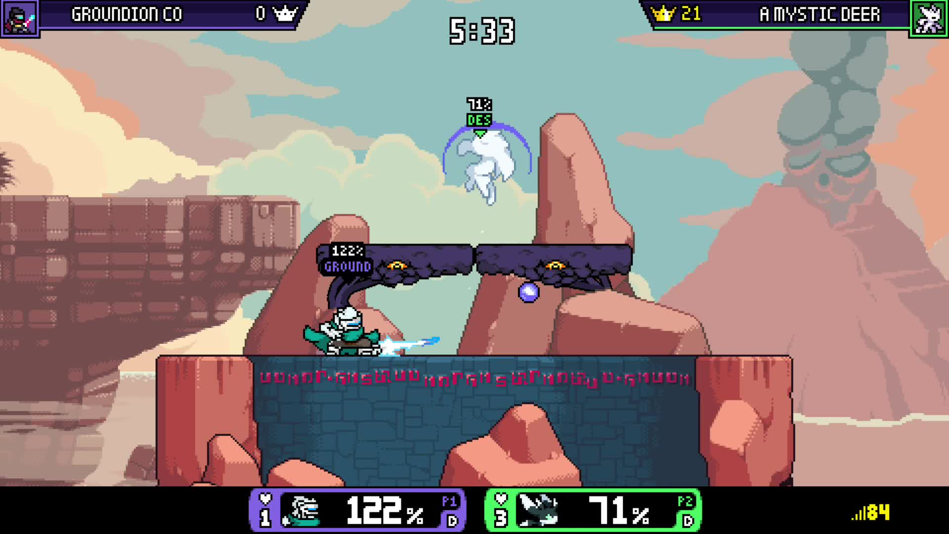 A Mystic Deer, RivalsofAether, gamer dvr, xbox, xbox one,  GIFs